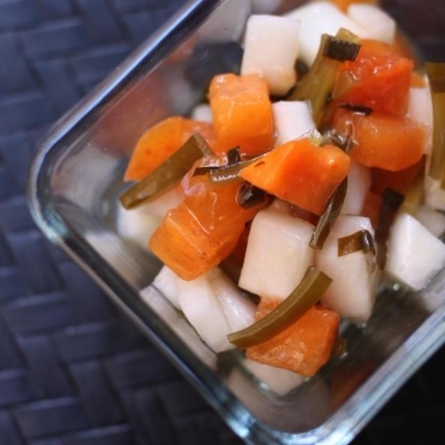 イタリアン柿なます  - 柿 -