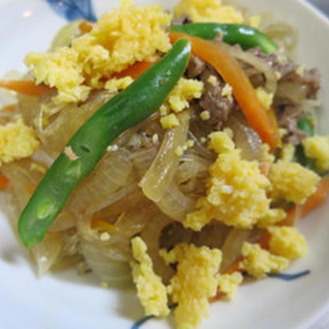 牛肉と玉ねぎの炒め煮
