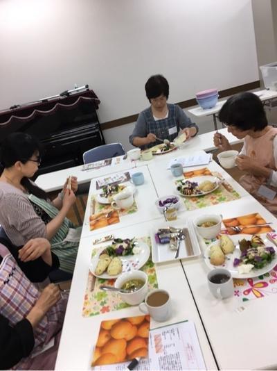 【料理教室】小松菜でワンプレーとランチ