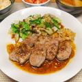 豚ヒレ肉の柚子胡椒ソテー