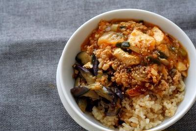 キムチ麻婆豆腐