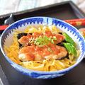 はんぺん・豆腐・長芋を袋でムニュ、うなぎの蒲焼き風♪