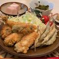牡蠣フライ✨ワカサギの唐揚げ✨