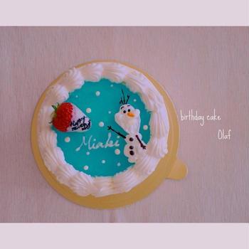 オラフのバースデーケーキ