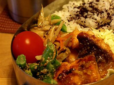 >お魚おかずの定番◎ お弁当 by inukumaさん