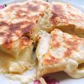 チーズがとろーり、チーズナン(チーズクルチャ)