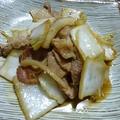 白菜漬け炒め by ふか さくらさん