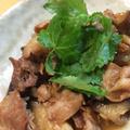 こってりさっぱり☆豚バラと茄子の生姜煮