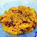 インドネシア風牛肉と玉ネギの混ぜご飯 by アレックスさん