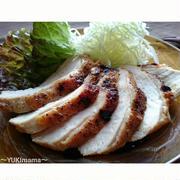 節約はやうま!~焼肉のたれで簡単~鶏むね肉(胸肉)のローストチキン(作りおき常備菜)