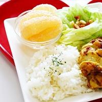 【おうちカフェ気分で☆】鶏肉のカレーソテーのワンプレートのレシピ☆