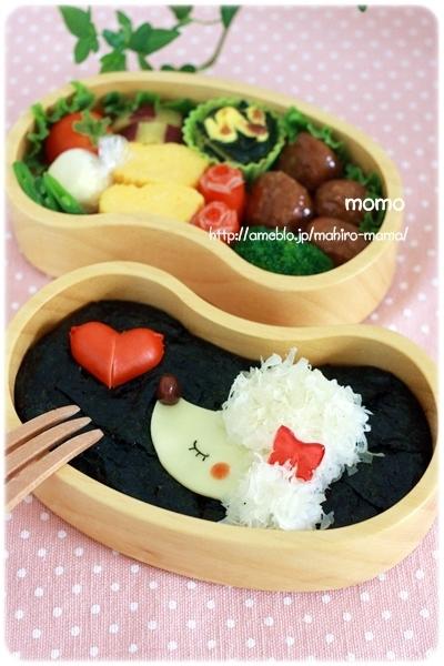 【Mai Maiちゃん便】プードルのお弁当♪