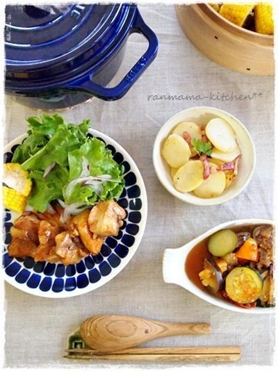 昨日の夕ご飯と鶏の照り焼き弁当