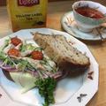 ひらめき朝食✨五穀パンでトーストサンド by Tea House ひだまりさん