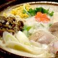 【レシピあり】寒い日に食べたい 胡麻豆乳鍋!