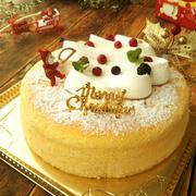 クリスマスのケーキ箱