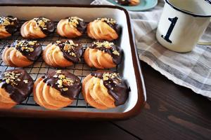 【絞りだしクッキー】<br>「クッキーが好きなんですが、特にチョコと合わせたものが大好き!自分の分を...