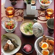 新じゃがと手羽元のこっくり煮!で、ほっこり和食♪