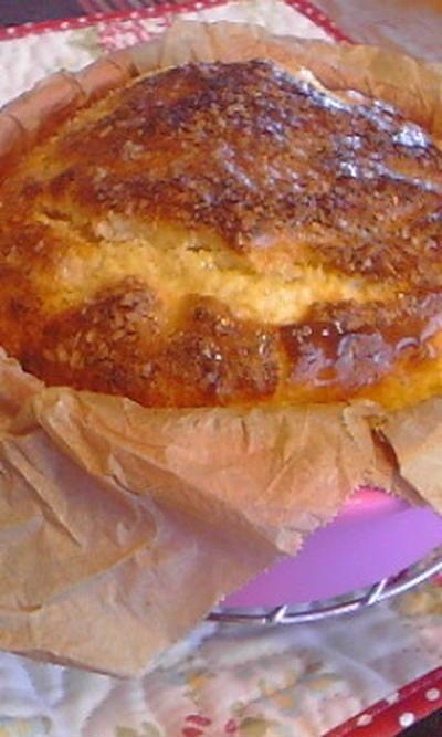 ココナッツマンゴーケーキ