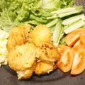 ホタテフライと納豆巻きとかっぱ巻き/冷凍ハンバーグで簡単ロコモコ丼(^-^)