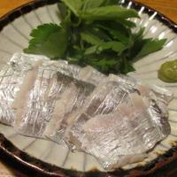 【旨魚料理】タチウオの酢締め