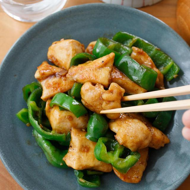 お肉やわらか!『鶏肉とピーマンの中華風炒め』