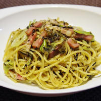 高菜のスパゲッティー