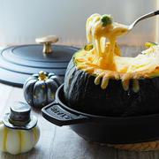 10/15 丸ごとかぼちゃグラタンと朝ごはん