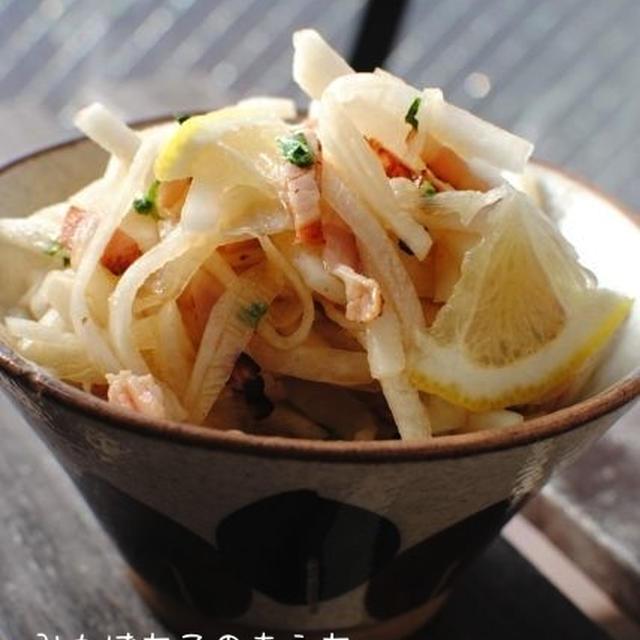 *今日の副菜〜簡単さっぱり大根サラダ*