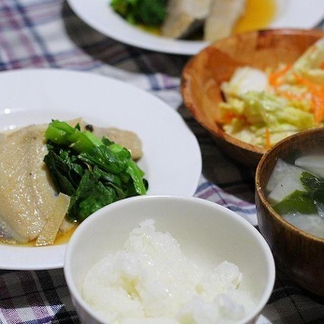 浅羽かれいの煮つけ~(夜ご飯)