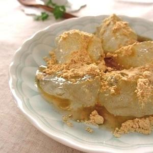 片栗粉で作れます!おうちで簡単わらび餅レシピ
