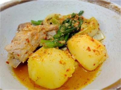 >レシピ・ピリ辛なのにとってもマイルド、ジャガイモのタン by ミオクさん
