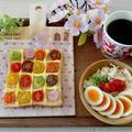 おはようございます朝ごはんは#ハニートースト『水玉トースト』水玉○○○が話... by とまとママさん