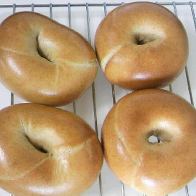 【粉5種ベーグル】少量こだま・室温発酵