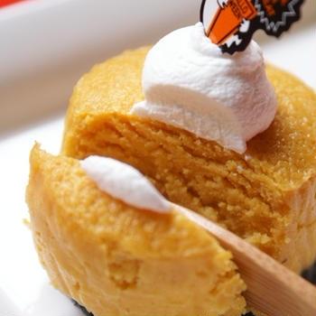 ぷちパンプキンチーズケーキ