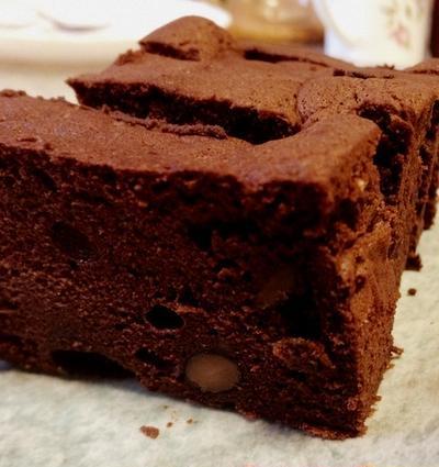 黒豆チョコレートケーキ