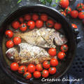 簡単で美味しい自分へのご褒美♪小鯛とプチトマトのアクアパッツァ
