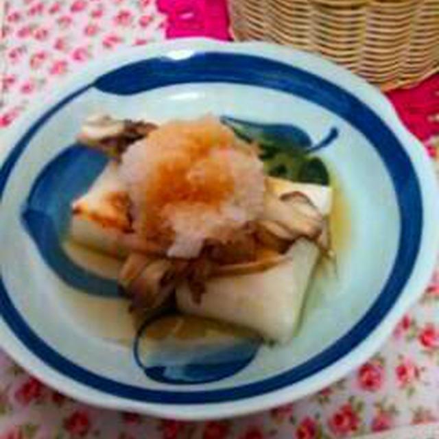 お料理レシピご紹介~焼き餅のおろしがけ~