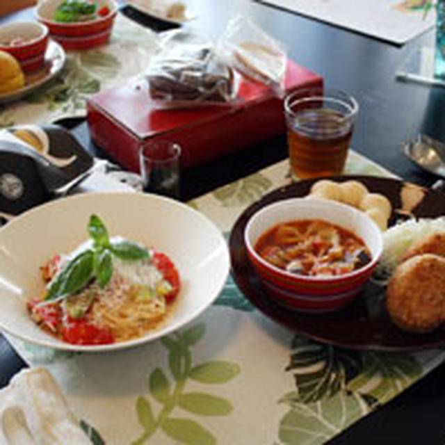 夏野菜を満喫☆メニューのお料理教室♪