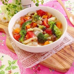 食べすぎはコレでリセット♪野菜たっぷり「脂肪燃焼スープ」の作り方