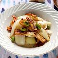 ちくわと新玉ねぎの枝豆きんぴら【味つけめんつゆで簡単】|レシピ・作り方