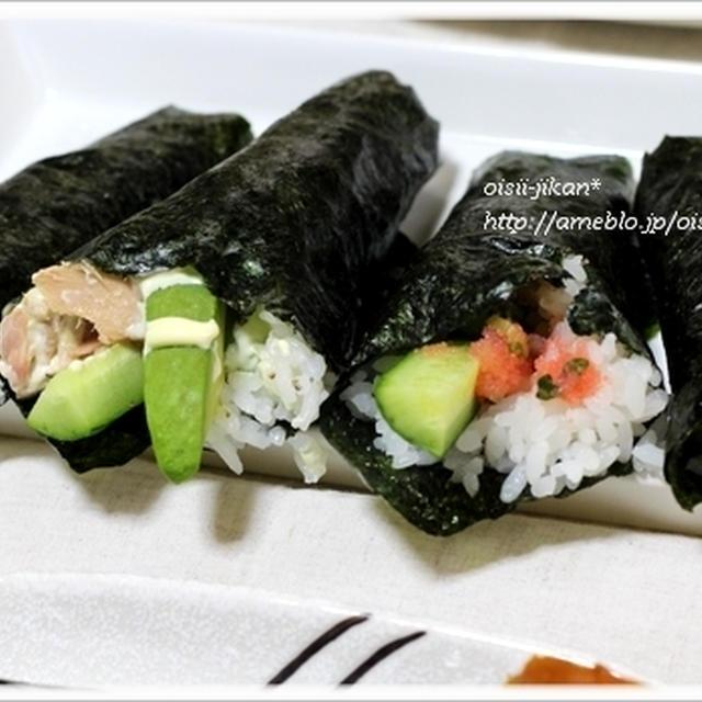 ■レシピ■手巻き寿司。