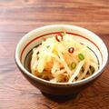 レンジで3分のかんたん箸休め。蒸し暑い季節においしい、中華風甘酢もやし。 by 庭乃桃さん