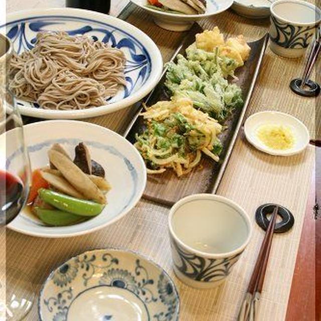 ◆庭の山菜で天麩羅♪~食べたい時のお赤飯♪