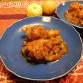 チキンとお豆のゆずジャム煮