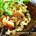 塩鮭とひじきの炊き込みご飯♪