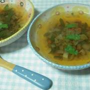 セロリの簡単スープ