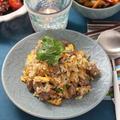 牛肉と野菜のスパイシー炒飯