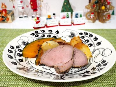 【レシピ】ストウブで作る!ブラックペッパー香る豚肉のロースト♪