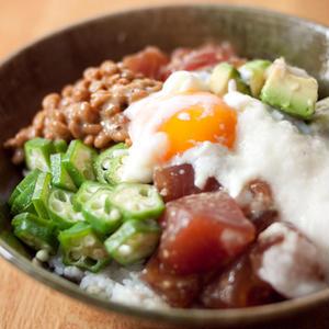 好きなお刺身で作ってみよう!「山かけ丼」のレシピバリエ